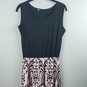 Maxi Side Pockets and Elastic Waist Size L